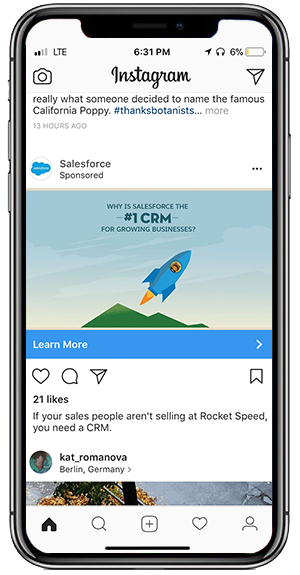 Salesforce InstagramAd 300x575