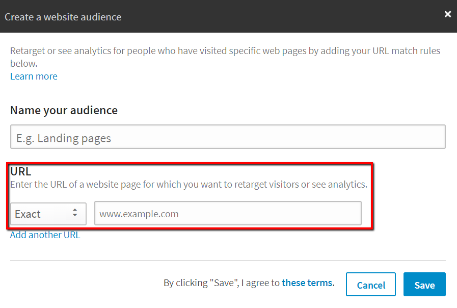 How to Create LinkedIn Remarketing Audiences from User Interactions